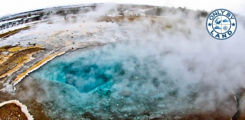 Visiting Geysir Iceland