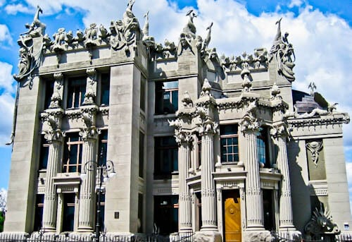Things to do in Kiev - House with Chimaeras