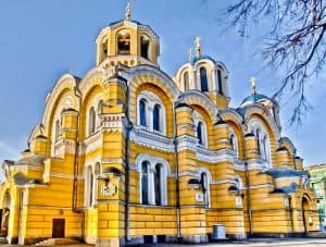 Things to do in Kiev - St Volodymyr's Cathedral