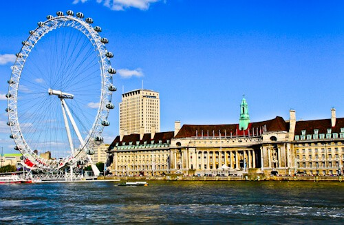 London Landmarks - The London Eye