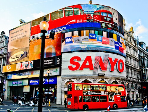 London Landmarks - Piccadilly Circus