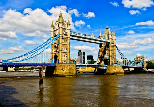 London Landmarks - Tower Bridge