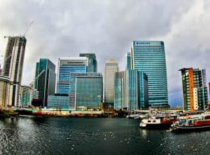 London Landmarks - Canary Wharf