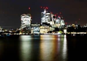 London Landmarks - The Walkie Talkie and the Gherkin