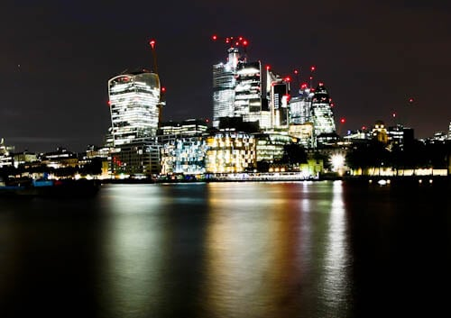 London Landmarks - The Walkie Talkie and the Gherkin
