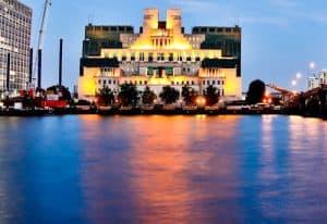 London Landmarks - MI6 Headquarters (SIS Building)