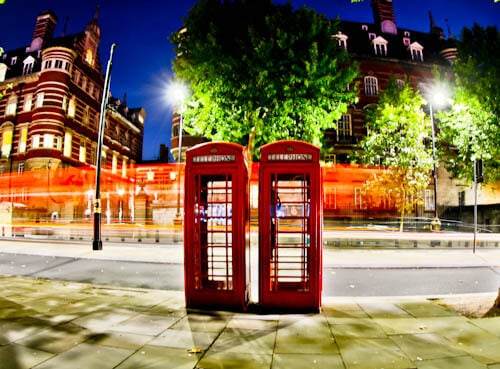 London Landmarks - Red Phone Boxes