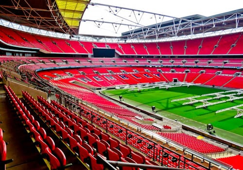 London Landmarks - Wembley Stadium