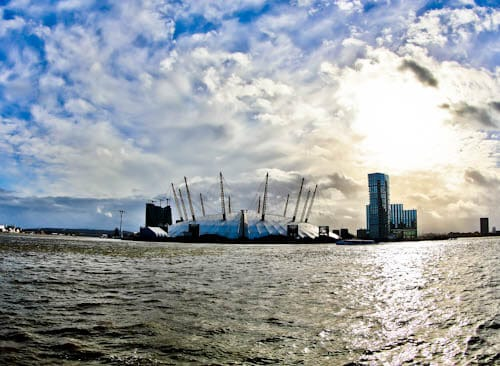 London Landmarks - O2 Arena (Millenium Dome)