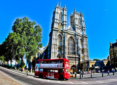 London Landmarks - Westminster Abbey
