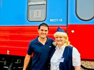 Trans Siberian Train, Moscow to Irkutsk