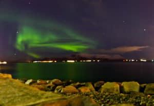 Northern Lights, Reykjavik