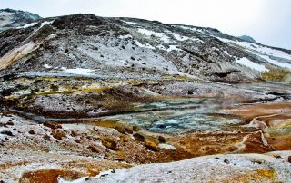 Seltun Iceland and Krysuvik Geothermal Area