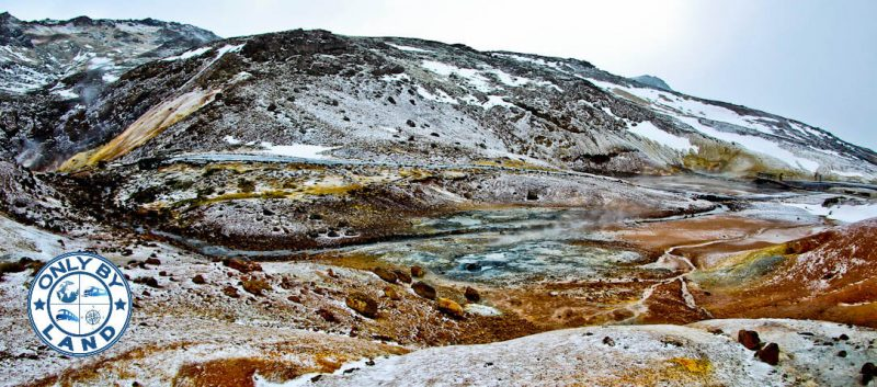 Seltun Iceland and Krysuvik Geothermal Area