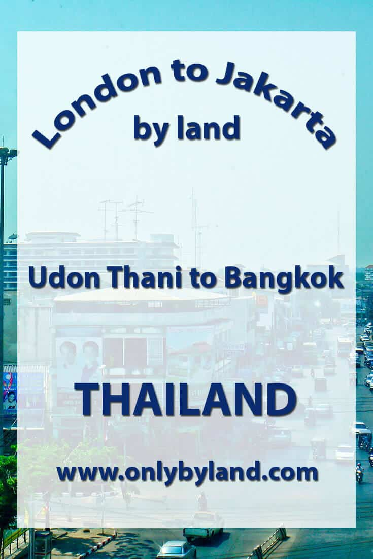 Udon Thani to Bangkok