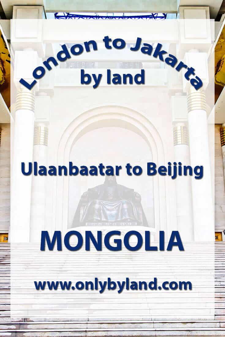 Ulaanbaatar to Beijing – Trans Mongolian Railway