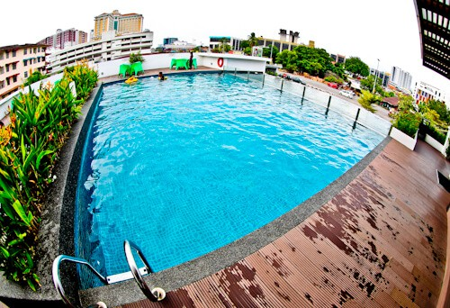 Kings Green Hotel Melaka - Infinity Pool