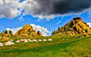 Ger Camp, Gorkhi - Terelj National Park, Mongolia