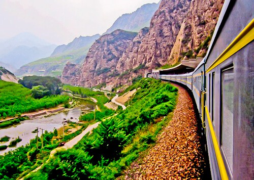 Trans-Mongolian Train to China