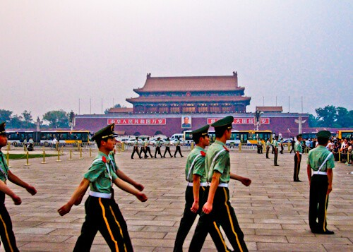 Changing of the Guard, Tiananmen Square, Beijing