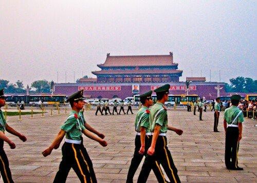 Changing of the Guard, Tiananmen Square, Beijing
