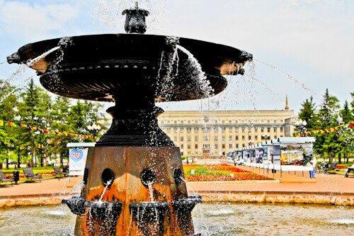 Kirov Square, Irkutsk