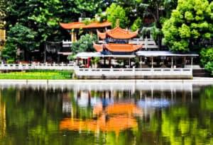 Green Lake, Kunming