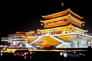 Bell Tower of Xi'an, China