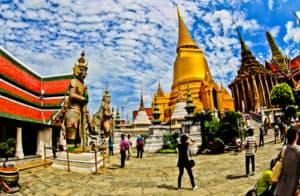 Wat Phra Kaew, Temple of the Emerald Buddha, Bangkok