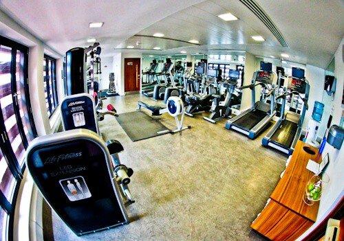 DoubleTree Hilton Hotel Leeds City Centre - Gym