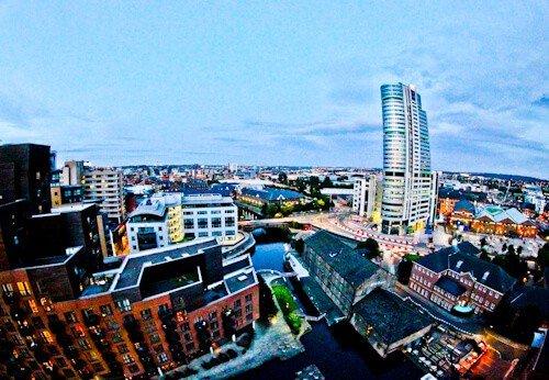 DoubleTree Hilton Hotel Leeds City Centre - Sky Lounge View