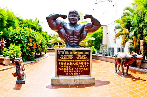 Datuk Wira Dr. Gan Boon Leong Park, Melaka