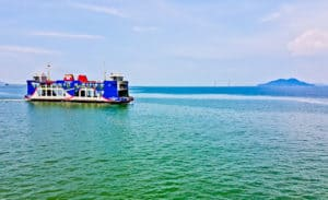 Ferry from Georgetown to Butterworth - RM3