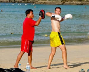Thai Boxing - Rawai Beach, Phuket