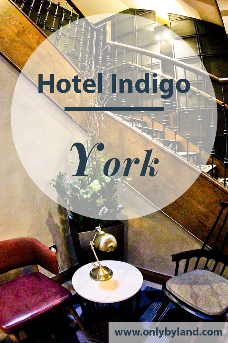 Hotel Indigo York - Travel Blogger Review