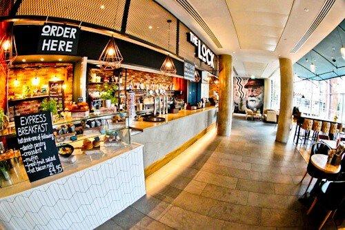 DoubleTree Hilton Hotel Leeds City Centre - The Lock Kitchen & Bar