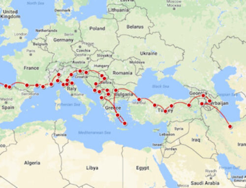 Lisbon to Tehran by land – October 2017