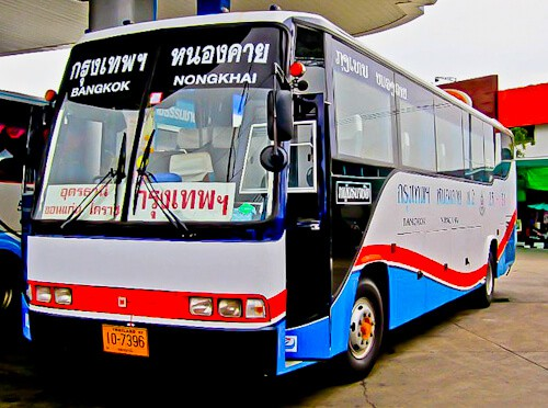 Bus from Udon Thani to Bangkok