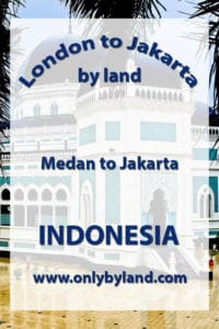A visit to the points of interest of Medan, Sumatra including the Mosque of Medan, the Maimun Palace and Lake Toba before traveling to Jakarta.