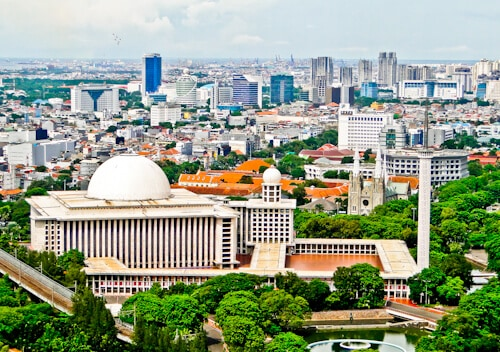 Istiqlal Mosque and St. Mary of the Assumption Cathedral, Jakarta