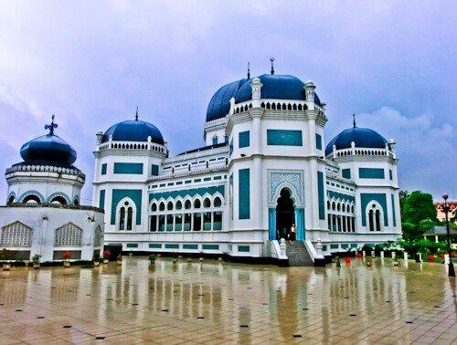 Great Mosque of Medan (Masjid Raya Al Mashun)