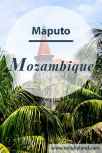 A visit to the points of interest of Maputo, Mozambique