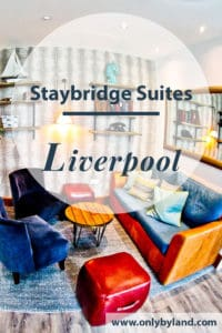 Review of the Staybridge Suites, Liverpool, home of The Beatles and Liverpool FC. A hotel with exclusively suites located opposite Albert Dock, Echo Arena and BT Convention Centre.