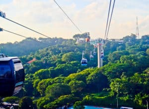 Cable Car to Sentosa, Singapore