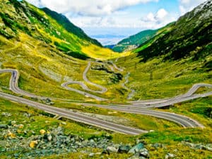 The Transfagarasan Road, Transylvania, Romania