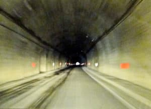 The Transfagarasan Tunnel