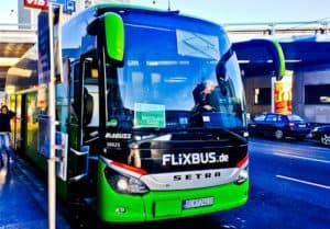 Vienna to Bratislava by bus (Flixbus)