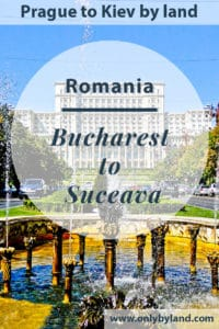 Bucharest to Suceava by Train