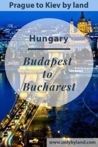 Budapest to Bucharest by Overnight Train