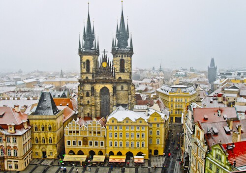 Things to do in Prague, Czech Republic - Church of Our Lady before Tyn